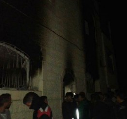 Palestine: Israeli settlers attempt to burn home near Ramallah