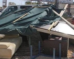 Palestine: Several Palestinian structures demolished by Israeli army in al-'Ezariyya town, Jerusalem
