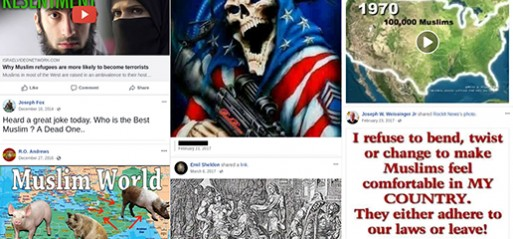 Police officers across five states exposed making thousands of anti-Muslim posts online