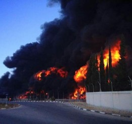"Palestine: Gaza's only power plant ""finished"" in Israeli shelling"