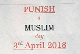 Man charged over 'Punish a Muslim Day' letters