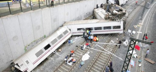 Spain: Train crash leaves over 70 dead
