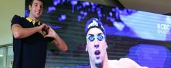 Turkey's Emre Sakçi breaks two swimming European records