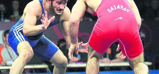 Sport Brief: Soner Demirtas takes gold in the European Wrestling Championships