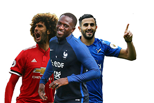 Mahrez, Fellaini and Sissoko Spain bound?