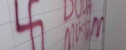 Neo-Nazi swastikas spray painted on Stockholm mosque