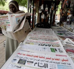 Sudan seizes 13 newspapers