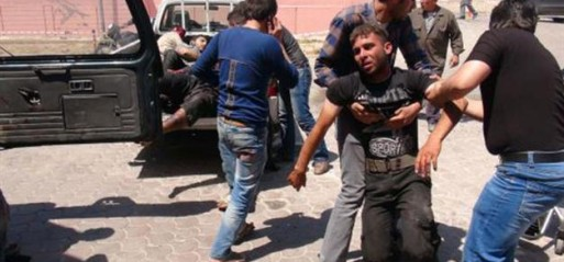 Syria: Dozens dead in Syria border blast near Turkey