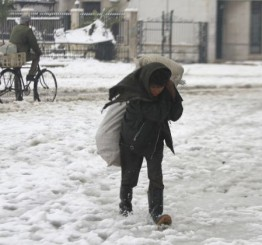 Syria: Death toll snow storm hits 11