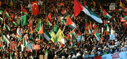 Turkey: Thousands condemn Israeli violence against Gaza in street protests