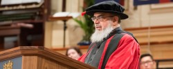 Leicester's leading Imam awarded honorary degree