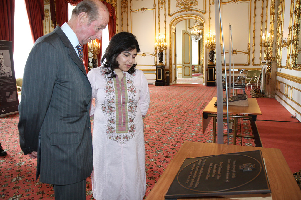 warsi with duke of kent WWI memorial