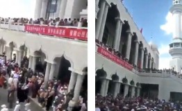 Chinese Muslims protest against mosque demolition