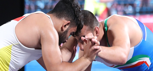 Wrestling: African and European medallists