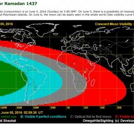 UK: Moonsighting for Ramadan