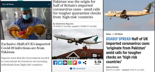 Misleading headline attributes half of imported Covid-19 cases come from Pakistan