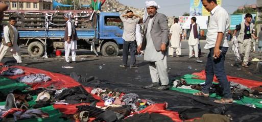 Afghanistan: 80 Hazara Shia Muslims killed in suicide bombing in Kabul