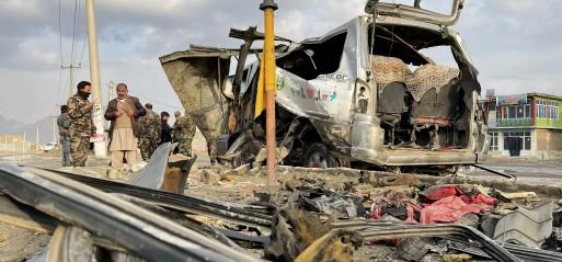 Afghanistan: Bus bombing kills 8 civilians in Herat