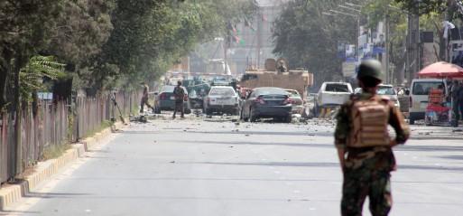 Afghanistan: Taliban bombing rocks diplomatic enclave in Kabul kills 12