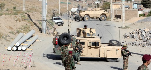 Afghanistan: Taliban suicide bombing kills 4 soldiers in Kabul