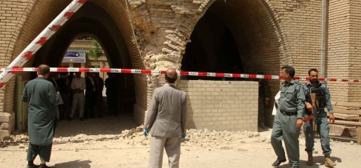 Afghanistan: 10 killed in suicide bomb attack