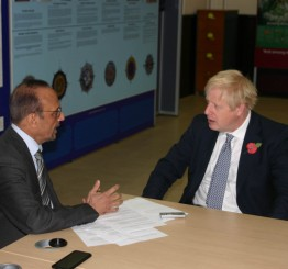 Everything depends upon Brexit, says Johnson