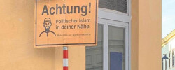 Austria: Islamophobic signs placed close to mosques days after govt launches digital                Islam map