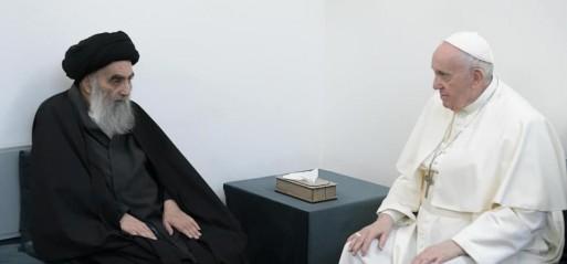 Iraq: Pope Francis meets top Shia Muslim scholar Ayatullah Al-Sistani