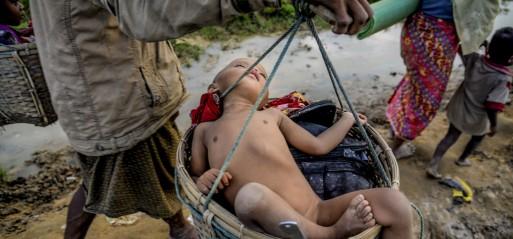 UN warns of malnutrition among child Rohingya Muslim refugees