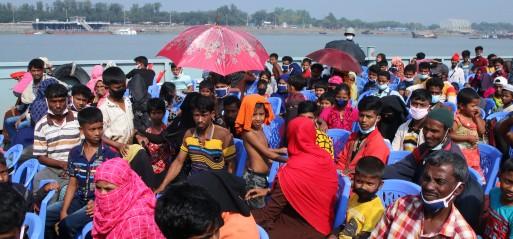 Bangladesh urged to halt Rohingya relocation to remote island