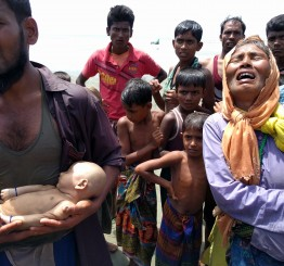 Myanmar: Trawler carrying Rohingya Muslims sinks near Bangladesh, 2 children dead