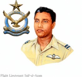 Bangladeshi renowned fighter pilot Saiful Azam dies at 80