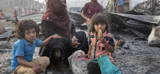Bangladesh: Fire destroyed Rohingyas shelters but not dreams