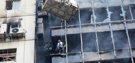 Bangladesh: 25 killed in Dhaka building fire