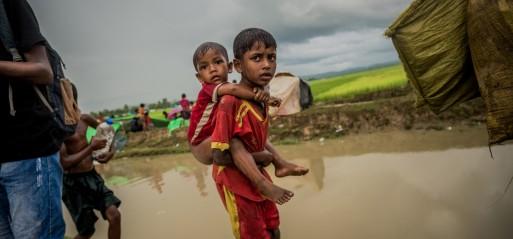 Myanmar: Up to 12,000 Rohingya Muslim children flee violence weekly, says UN
