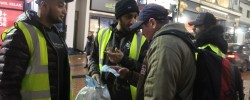 Birmingham mosque open its  door to the homeless