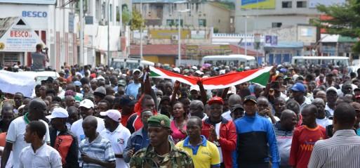 Burundi tense as army confirms 87 deaths