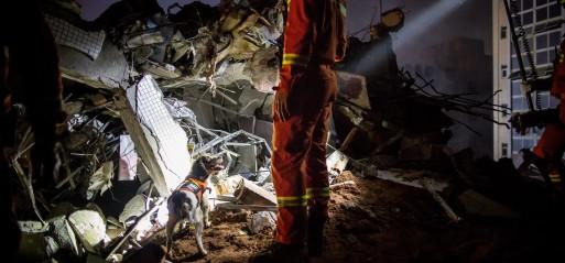 China: 85 missing after landslide at industrial park