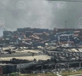China: Death toll from warehouse blasts rises to 158