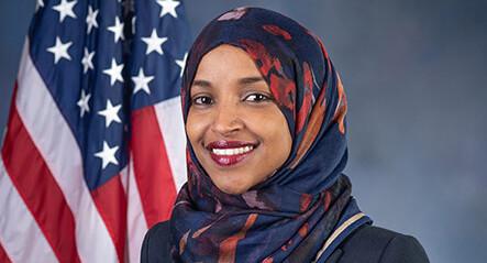 Democrats finally rally behind besieged Muslim congresswoman