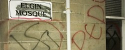 Mosque in Scotland vandalised
