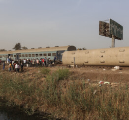 Egypt: 11 dead, 98 injured in train crash