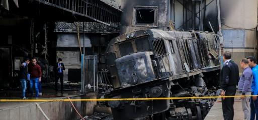 Egypt: Fire kills 25 at Cairo's main train station