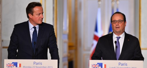France, UK 'determined' to step up fight against Daesh