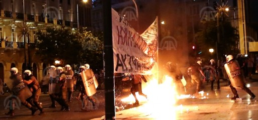 Greece passes austerity measures on night of anguish
