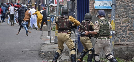 Jammu & Kashmir: One killed, hundreds injured in brutal clampdown by India