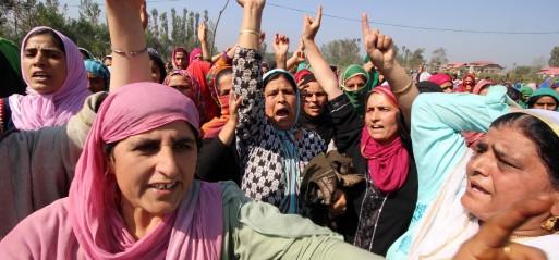 Jammu & Kashmir: Gunmen kill toddler sitting on father's lap