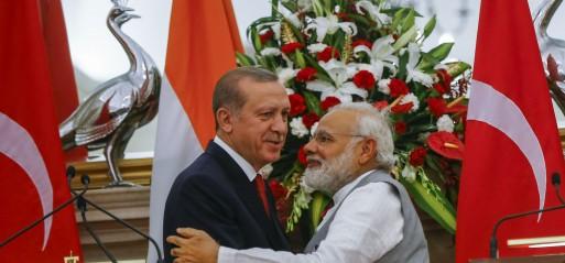 Turkey, India boost cooperation in fighting terrorism