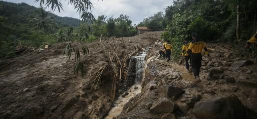 Indonesia: 35 dead after floods, landslides in Central Java