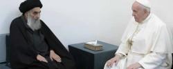 Pope Francis meets religious leader, Ayatullah Ali Al-Sistani, in a landmark visit